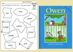Owen - free printable to match Teaching Heart