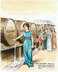 This Herbert Beecroft illustration from 1905 shows Zealandia holding the people's vote draining barrels of alcohol New Zealand Wine, Art Vintage, History Online, Cartoon Shows, Historical Photos, Decoration, Brown And Grey, Empire, Alcohol