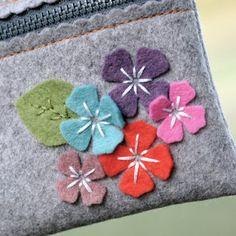Posie Posie Coin Purse by You Go Girl, via Flickr