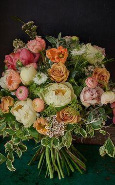 Planning A Fantastic Flower Wedding Bouquet – Bridezilla Flowers Floral Bouquets, Wedding Bouquets, Wedding Flowers, Floral Wreath, Pink Bouquet, Deco Floral, Arte Floral, Floral Design, Beautiful Flower Arrangements