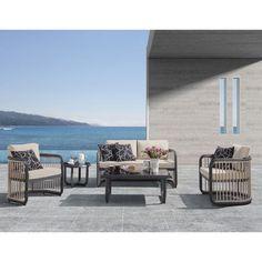 Υπέροχο σετ σαλόνι κήπου City Living από αλουμίνιο που αποτελείται από έναν διθέσιο καναπέ,  δύο άνετες πολυθρόνες, τραπέζι μέσης και ένα βοηθητικό τραπεζάκι. Ιδανική επιλογή για να συμπληρώσει με στυλ και άνεση τον κήπο ή την βεράντα σας! #σαλόνι #κήπος #έπιπλακήπου #epiplakipou #kipos #saloni #epipla #βεράντα #μπαλκόνι #κηπος #σαλονι #επιπλα #καναπες #καναπές #τραπεζάκι #πολυθρόνες #outdoorfurniture