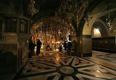 Chapel of Golgotha - Holy Sepulcher, Jerusalem. My absolute favorite place in the world!