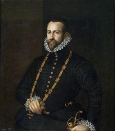 Anónimo, Retrato de caballero de la Orden de Calatrava 1570 - 1590
