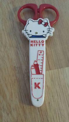 Original 1976 Hello Kitty kid scissors  I used to have this exact same scissor!