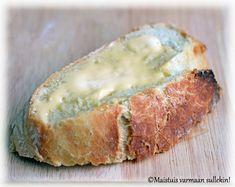 Maistuis varmaan sullekin!: Vaivaamaton pataleipä Camembert Cheese, Dairy, Bread, Beauty, Food, Brot, Essen, Baking, Meals