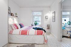 décoration loft lumineux chambre
