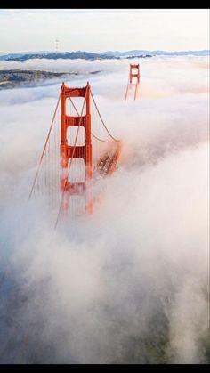 San Francisco Travel, Great View, Golden Gate Bridge, Community, World, Amazing, Instagram, The World