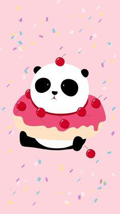 We Bare Bears Wallpapers, Panda Wallpapers, Pretty Wallpapers, Panda Themed Party, Panda Party, Cute Backgrounds, Wallpaper Backgrounds, Iphone Wallpaper, Cute Panda Wallpaper