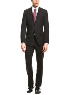 Boss Black - James wool two-button suit
