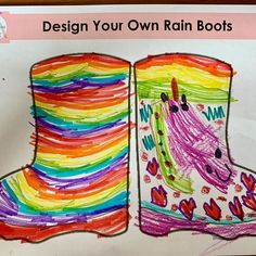 Little Person Learning Centre Little Learners, Learning Centers, Art Activities, Design Your Own, Rain Boots, Sayings, Artwork, Profile, Weather