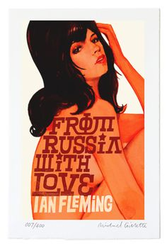 From Russia With Love James Bond by Michael Gillette