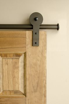 Definitely a design statement, but is an interior barn door right for your home?