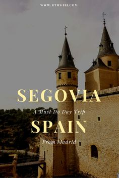 The Alcazar of Segovia, supposedly inspiration for Cinderella's castle. - A Must Do And Easy Day Trip From Madrid, Spain | www.rtwgirl.com