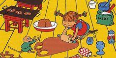 Pippi Longstocking, illustrated by Ingrid Vang Nyman