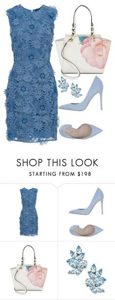 """""""Untitled #303"""" by ivana-j ❤ liked on Polyvore featuring French Connection, Le Silla and Karl Lagerfeld"""