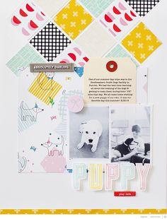 Blog: Sunday Sketch   Kelly Noel - Scrapbooking Kits, Paper & Supplies, Ideas & More at StudioCalico.com!