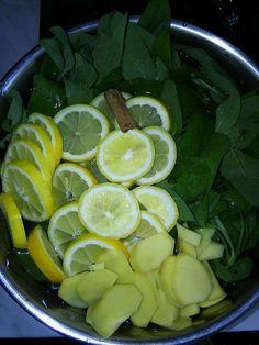 Bylinková Maruška: Šalvějový sirup na kašel :: Potraviny jinak Fruit Tea, Home Remedies, Pesto, Smoothies, Herbalism, Spices, Lime, Food And Drink, Health Fitness