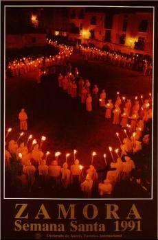 Cartel de la Semana Santa de Zamora 1991