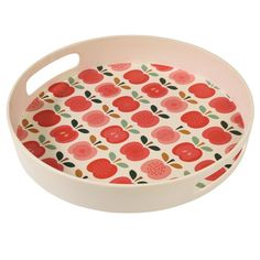 Bamboo Vintage Apple Tray | dotcomgiftshop | Winter Sale Now On