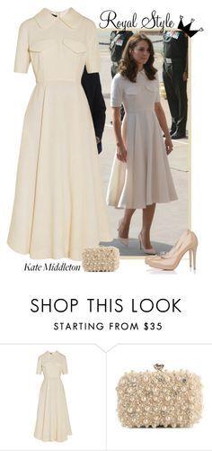 """Kate Middleton Style"" by smylin ❤ liked on Polyvore featuring Emilia Wickstead, L.K.Bennett, Lulu Townsend and katemiddleton"