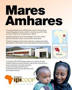 """Con motivo de la 1a cursa de la dona Dream Runners Cornellà, IPI COOP & Dream Runners os invitan a la inauguración de la expo fotográfica """"MARES AMHARES"""" que tendrá lugar el próximo 12 de febrero en el Parc Esportiu Llobregat - PELL a las 19:00hs.  Son 13 fotografías (una por cada mes del calendario etíope) de madres y mujeres embarazadas de la región Amhara que nos ayudarán a descubrir la labor que IPI Cooperació está realizando en la región."""