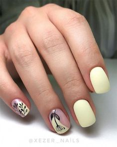 Nails Trendy Nail Designs for Summer that brighten up your look Want to get summer nail design ideas for the summer? Then you are in the right place! We have found stylish summer nail ideas that brighten up your look for this summer. Nail Art Cute, Nagellack Trends, Short Nail Designs, Best Acrylic Nails, Shellac Nail Art, Hot Nails, Dream Nails, Nail Polish Designs, Nail Decorations