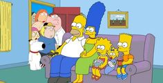 First look: 'The Simpsons' and 'Family Guy' crossover episode