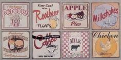 retro food signs - Yahoo Search Results