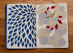 It was a good place to explore new ideas around paper cutting and collage, and the whole thing has inspired new work. That's exactly what a sketchbook is for.