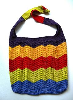 Tutorial Colorful Croched Summer Bag  from maleni by DaWanda.com