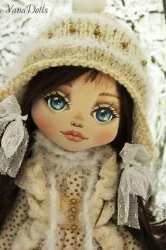 Купить Аннушка - белый, кукла ручной работы, кукла, кукла в подарок, кукла интерьерная