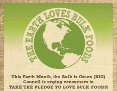 Earth Day Infographic: The Benefits of Buying in Bulk | Buying in bulk can have big environmental benefits from reducing packaging to reducing the carbon footprint of your meals (less overall transportation is required for bulk foods).  - Foodista.com