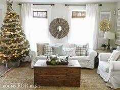 Woodland Glam Christmas Tree