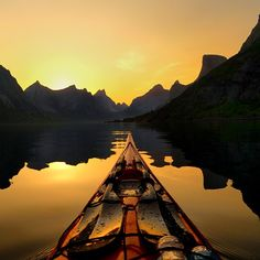 This photo is from Reinefjord Lofoten Islands. taken during midnightsun.  You can see full-size photos on my Facebook page, link in my bio.  In collaboration with @hattvikalodge and @kristoffervan we are running kayak events in Lofoten Islands this summer. We are planning guided sea kayaking trips at day and practical photo workshops in the evenings.  Follow the www link in my profile for more info  Or check out on the event's facebook page:  facebook.com/adhdsightseeing…