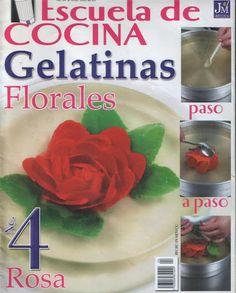 GELATINAS FLORALES - GiMayen - Álbumes web de Picasa https://es.pinterest.com/mdmtello/recetas/