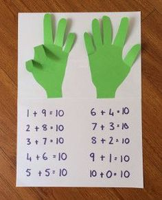 Teaching kids how to count doesn't have to be tricky, thanks to this Hands-On Math worksheet! | AllFreeKidsCrafts.com