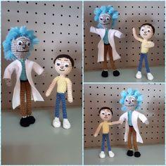 Rick and Morty Rick And Morty, Amigurumi