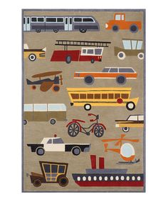 Take a look at this Concrete Traffic Rug by Momeni Rugs on #zulily today!