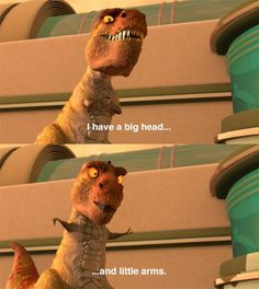 """Meet the Robinsons """"I have a big head and little arms, I don't think this plan was well thought out."""""""