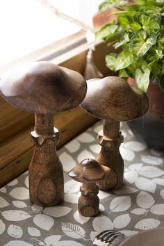 Decoration, Stuffed Mushrooms, Vegetables, Food, Fall Home Decor, Pet Store, Decor, Stuff Mushrooms, Essen