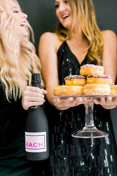 Bachelorette Party Planning, Bachelorette Weekend, Kids Sleepover, Best Bride, Mini Champagne, Custom Cookies, Maid Of Honor, Event Planning, You Got This
