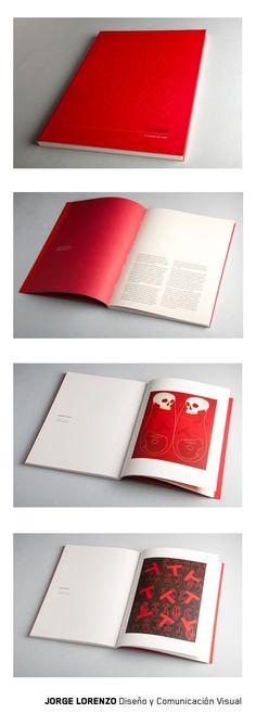 Catálogo para exposición del artista Juan Martínez #design #editorialdesign #book #art