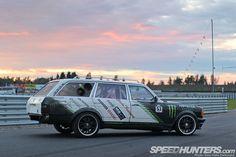 Diesel Fury: The Black Smoke Wagon - Speedhunters Mercedes E Class, Mercedes Benz 300, Corolla Wagon, Drifting Cars, Black Smoke, Station Wagon, Toyota Corolla, Car Decals, Race Cars