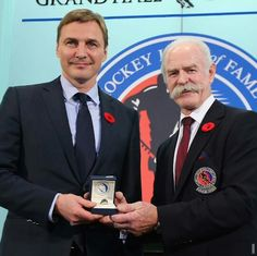 Sergei inducted into the Hall of Fame!