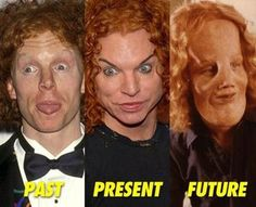 the evolution of carrot top.