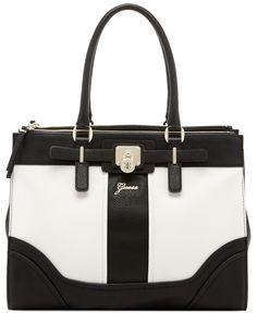 Guess Greyson Status Carryall Saffiano Handbags Accessories Macy S