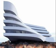 Fabulous Architecture was share to Roman Vlasov design . He is Ukranian and he created minimalist and futuristic architectural design. Architecture Panel, Minimalist Architecture, Architecture Portfolio, Futuristic Architecture, Ancient Architecture, Sustainable Architecture, Architecture Design, Roman, Hotel Casablanca
