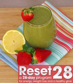 Spring is almost here! It is time to hit the reset button on your health and shed those winter pounds. (Click the See More link for the recipe.) RESET 28 is not just another cleanse. It is all about changing you habits and focusing on healthier habits and healthier foods. RESET 28 is a 28-day program focuses on gaining energy, losing weight, clearing your skin and improving your overall health. It's time to get healthy from the inside out! I'll post a link in the comment. Here is one of the…