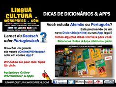 DICAS de Apps+Dicionários (inclusive Online) PARA APRENDER ALEMÃO & PORTUGUÊS
