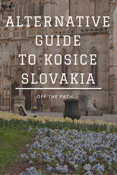 Alternative guide to Kosice. Did you know that there is a cafe that looks like Central Perk from Friends? Or a restaurant that claims to be a different country. Read more on the blog! Article in Polish - use translator